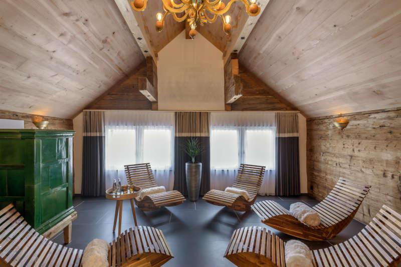 Wellness im Appenzellerland - Boutique Hotel Bären Gonten - Ruheraum