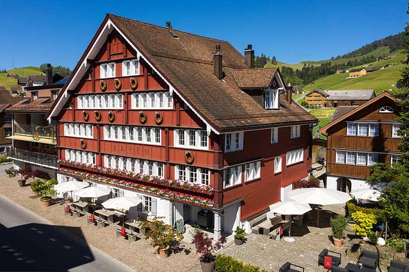 Wellness im Appenzellerland - Boutique Hotel Bären Gonten