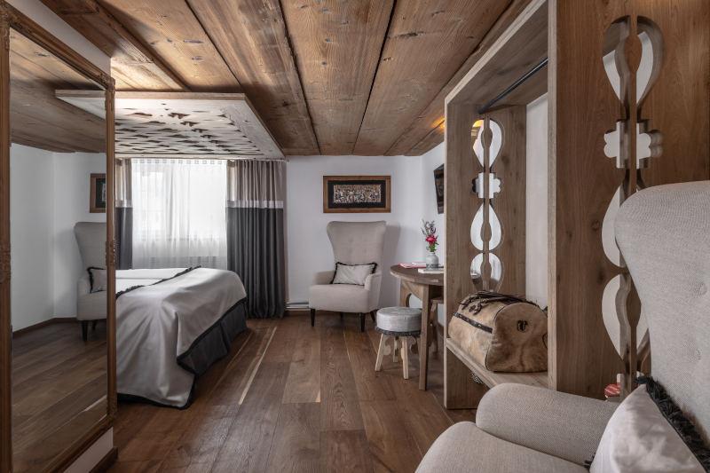 Wellness im Appenzellerland - Boutique Hotel Bären Gonten - Doppelzimmer originell