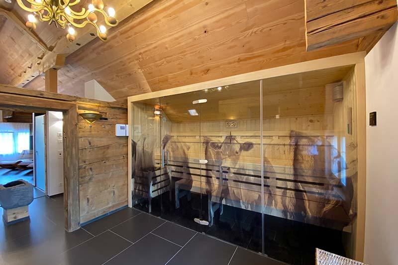 Sauna - Boutique Hotel Bären Gonten, Wellness